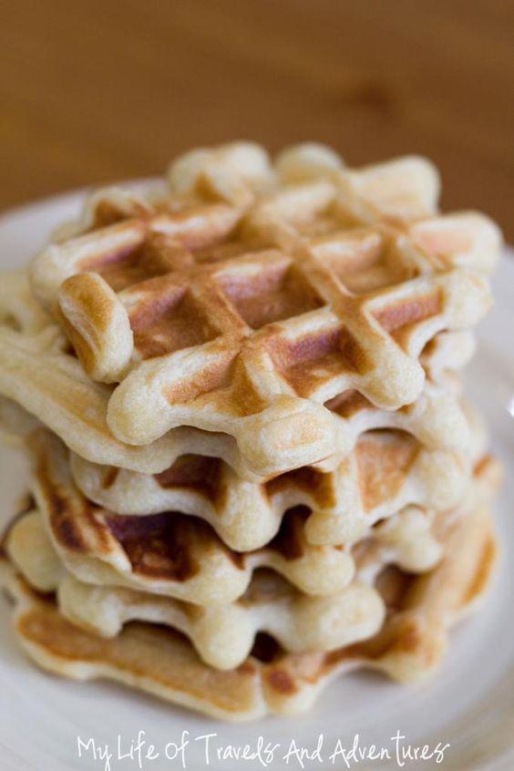 Recipe: Vanilla Waffles