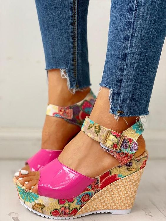 Sexy Wedges Sandals