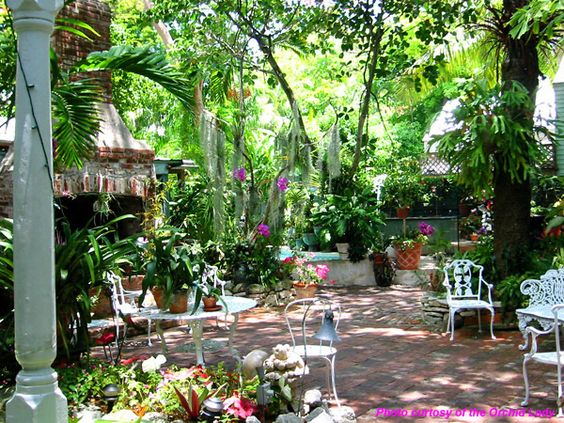 Key West garden oasis Magical Inspirations for the Soul