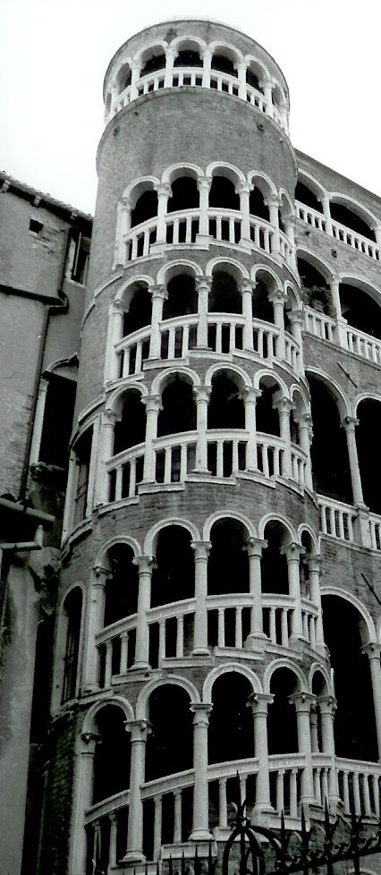 The Contarini building in Venice: compare with the wentletrap shell. Photo by Rachel Lackie