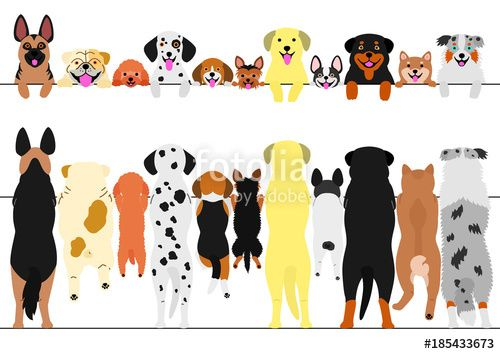 Pin By Robin Kohls On Dogs Clipart Cute Animal Illustration Dog Illustration Dog Art