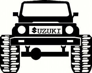 Suzuki Vitara Dibujo Black And White