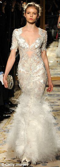 The 2012 Marchesa Collection by designers Georgina Chapman and Keren Craig