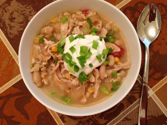 WIAW: Chicken and White Bean Chili