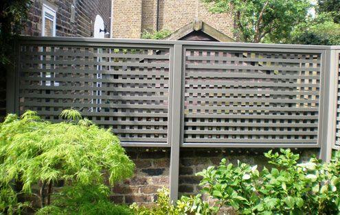 soft pebble grey garden trellis - The Garden Trellis Company - Products