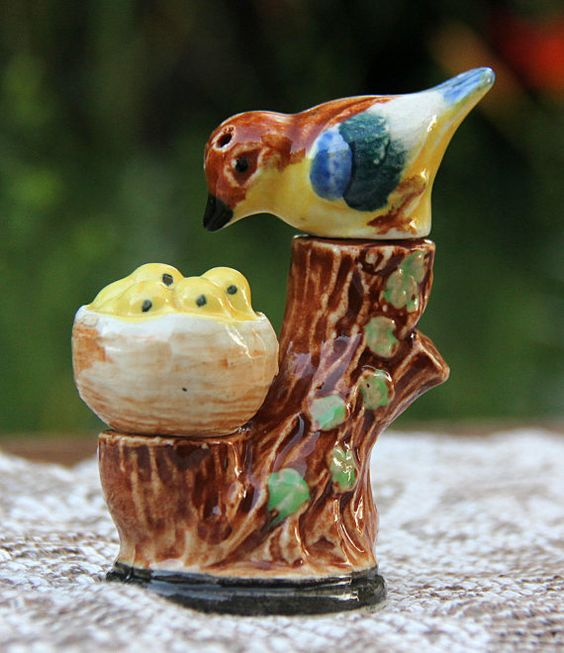 Babies Salt Pepper Shakers And Nests On Pinterest