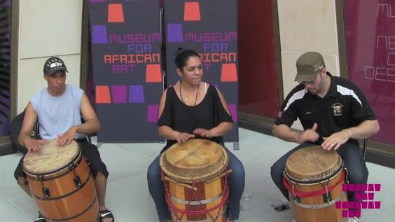 Bombazo at The Plaza: A Bomba Class and Drum Circle with Alma Moyo by Museum for African Art