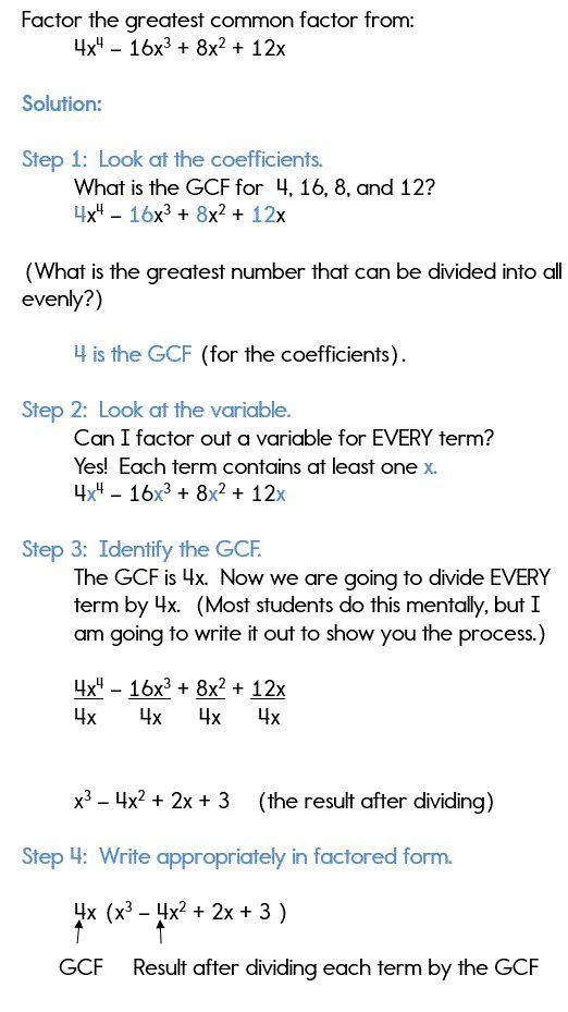 30 Factorisation Class 8 Worksheets Factoring Polynomials Using The Gcf Factoring Polynomials Polynomials Quadratics
