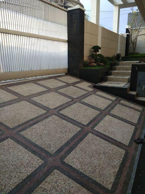 Jasa Pembuatan Batu Lantai Carport Batu Sikat Di Gresik Salwa Alam Art Lantai Desain Interior Modern Ide Dekorasi Rumah