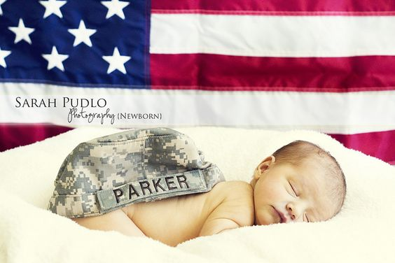 Future baby pic! So CUTE!    Military baby! by sarahpudlo, via Flickr