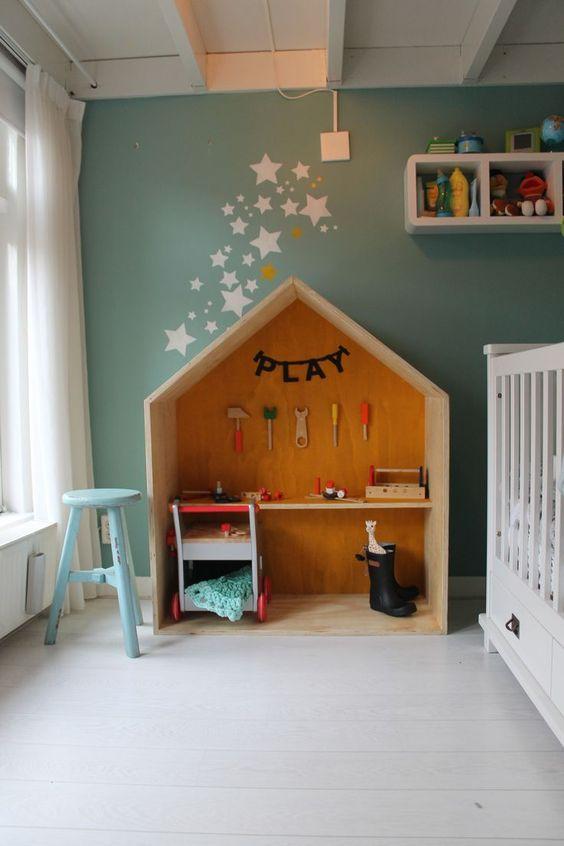 workshop f r kinder and haus on pinterest. Black Bedroom Furniture Sets. Home Design Ideas