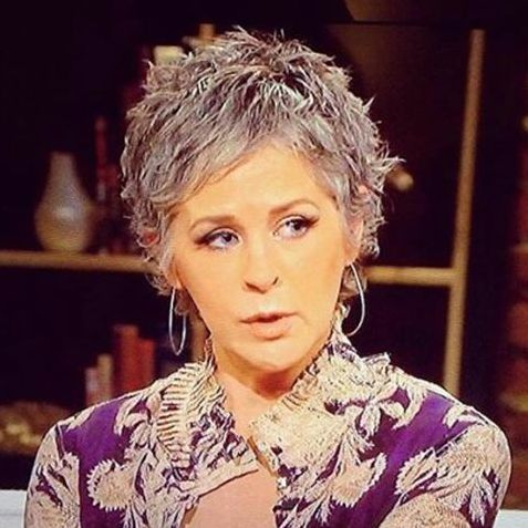 Melissa McBride on Talking Dead [she looked so good!] #TWD
