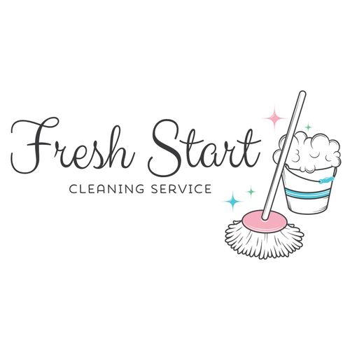 Premade Logo Design Cleaning Service Logo ♡ Premade Logos