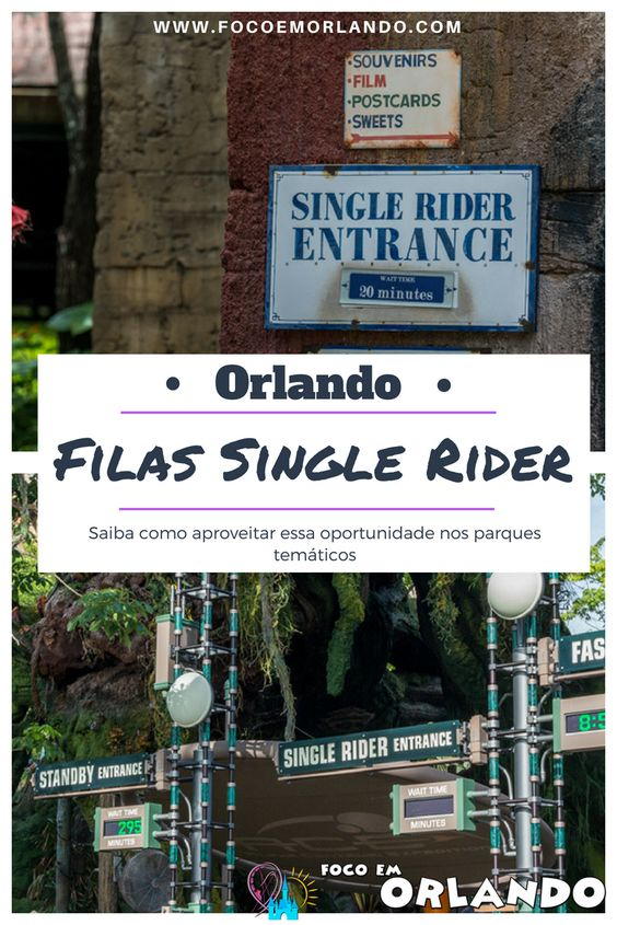 Filas de Single Rider