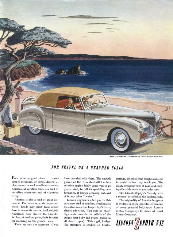 1940's advertising | old car ads home | old car brochures | old car manual…