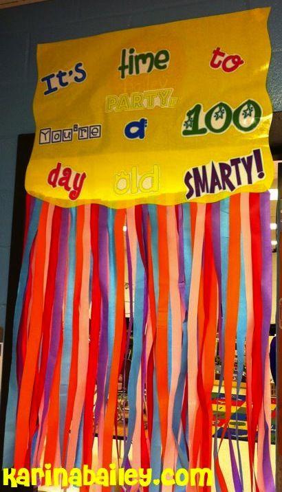 100th day of school ideas 100 days of school celebration for 100th day of school decoration ideas