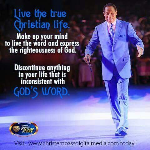 290e43610200b3b03e4bbbd99a12dbf7 - Pastor Chris Quotes That would Inspire Your Day