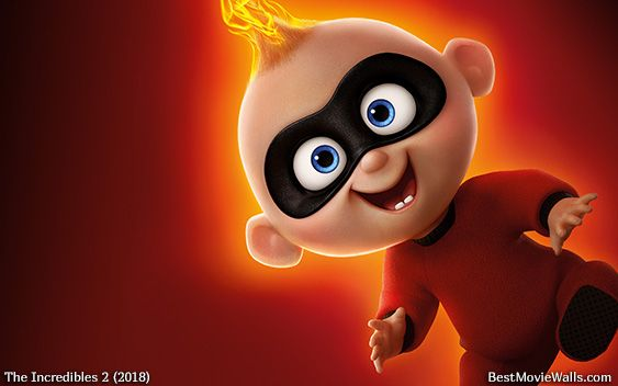 Theincredibles2 Wallpaper Hd Jackjack The Incredibles Boys