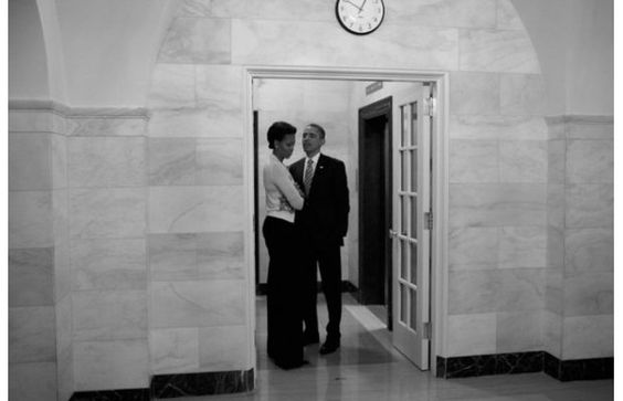 Barack And Michelle Obama Photographed By Christopher Morris