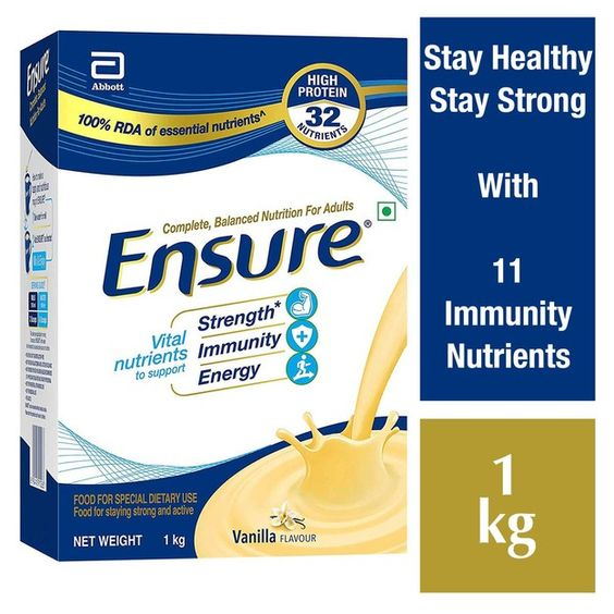 Ensure: Complete, Balanced Nutrition