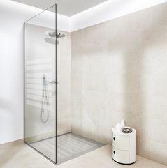 Glasvæg bad