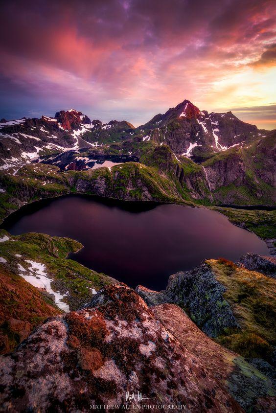Midnight through Eternity (Norway) by Matthew Allen on 500px