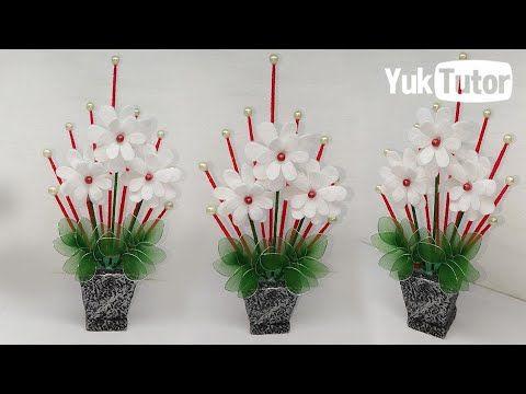176 Ide Kreatif Kreasi Bunga Hias Yang Cantik Dan Menarik Flower Ideas Youtube Bunga Kreatif Perhiasan