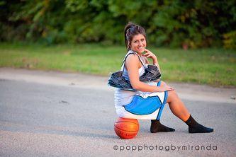 Seniors; basketball; outdoors