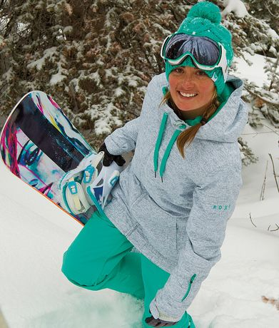 Roxy Women's Valley Hoodie Jacket -- and everything else, as well ;) That board is beauTful. @jsdemi