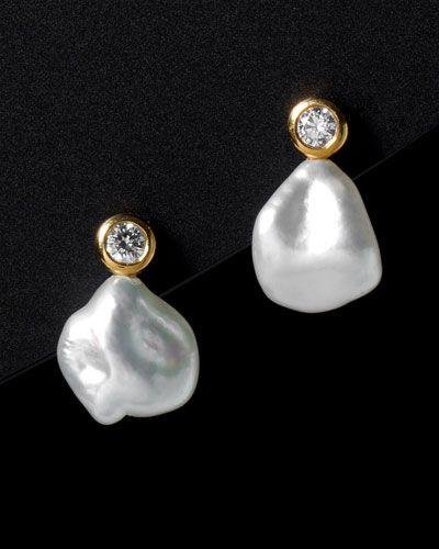 Barroc pearl # gold#.aquamarine