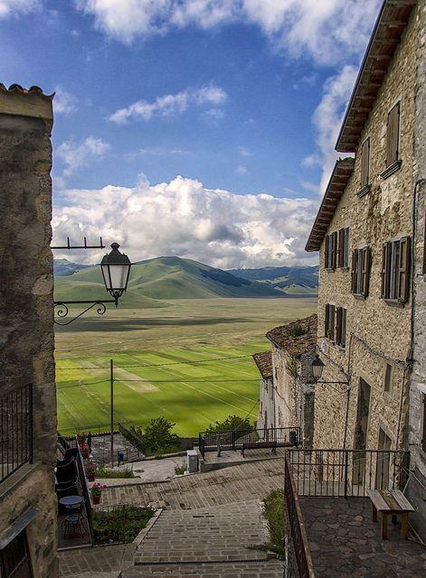 Castelluccio di Norcia, province of Perugia Umbria - Italy