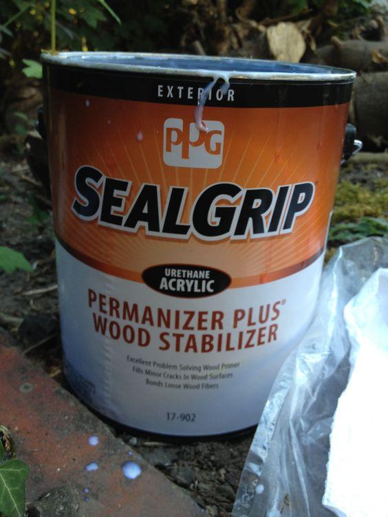 Permanizer Plus. Wood Primer. Exterior. Overnight to dry.