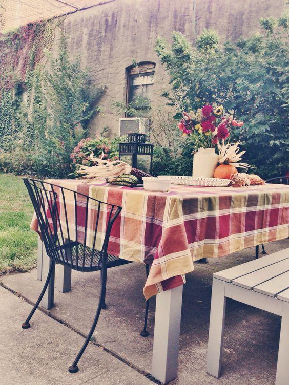 Backyard Fall Party
