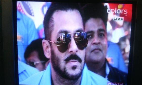with Salman Khan
