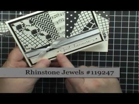 Easy Starburst (Sunburst) Card Technique