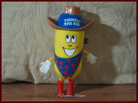 TWINKIE The Kid Cowboy 2001 Hostess Sponge Cake With Cream Filling Snake Holder   https://ajunkeeshoppe.blogspot.com/