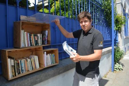 Boîte à livres Mons 1