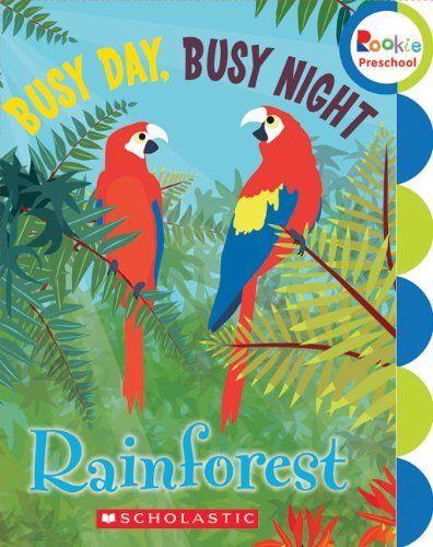 Rainforest book for Preschool
