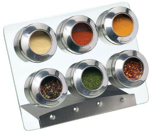portaspezie magnetico con la raccolta il contenitore di spezie: Amazon.it: Casa e cucina