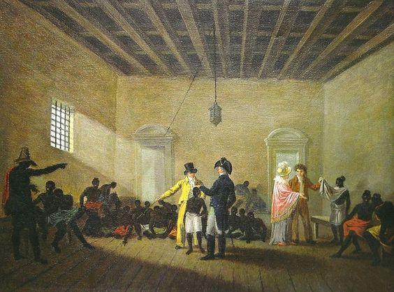 mercado de escravos da rua do Valongo, Rio de Janeiro século 19