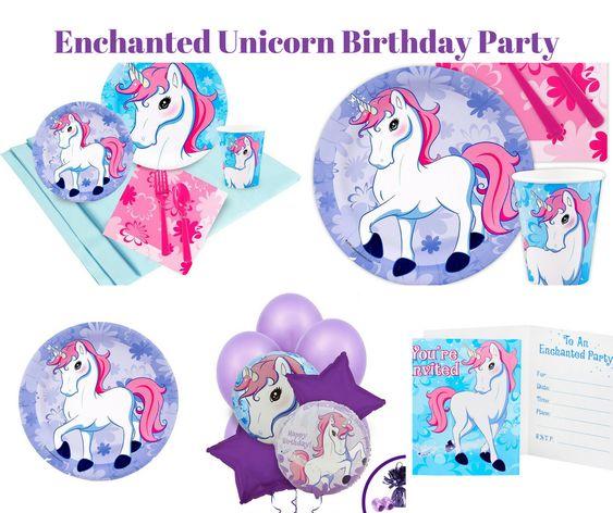 Enchanted Unicorn Birthday Party