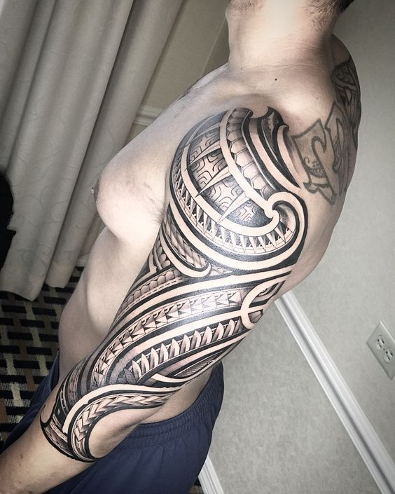 Mixed Tribal Tattoo Designs High Resolution Drawings For Sale Tribal Tattoos Polynesian Tattoo Tattoos