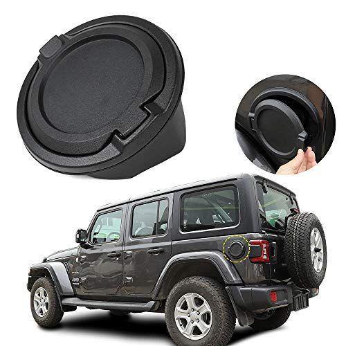 Car Exterior Accessories Fuel Filler Door Cover Gas Cap For Jeep Wrangler Jl 2018 Black A Wrangler Jl Jeep Wrangler Jeep