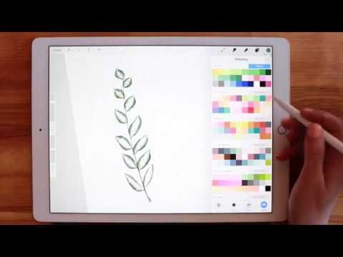 Realistic Watercolor In Procreate Ipad Pro Tutorial How To