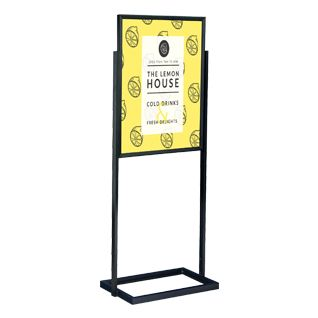 22 x 28 poster stand for floor top