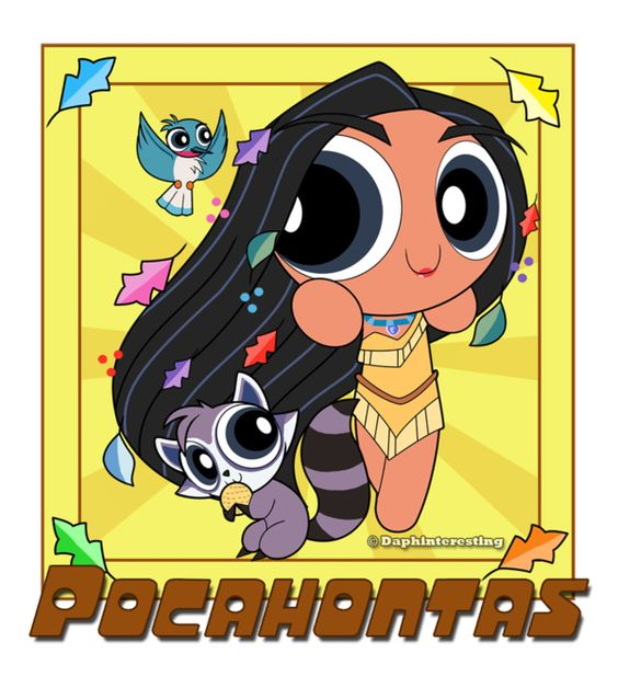 Powerpuff Pocahontas by DaphInteresting