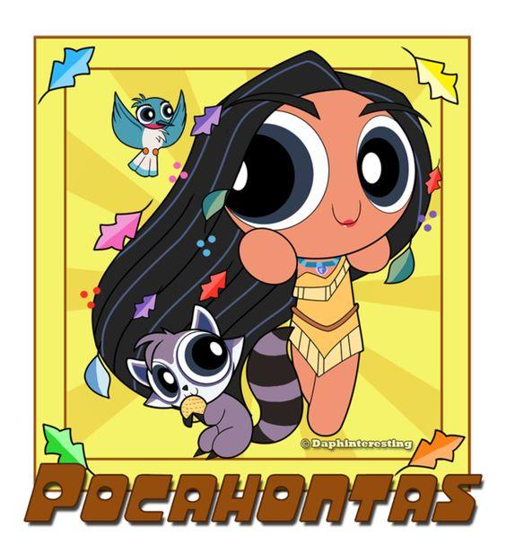 Powerpuff Pocahontas by DaphInteresting