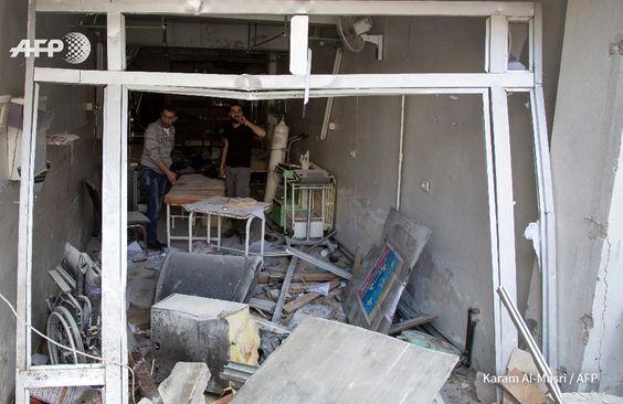 Síria: número de mortos em hospital de Aleppo sobe para 55  | MSF Guiomar Ferreira