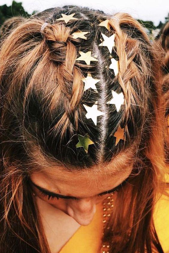 Penteados Carnaval 2019 com Glitter