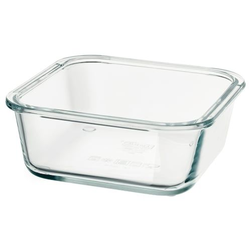 Ikea Ikea 365 Rectangular Glass Food Container Ikea Food